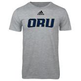 Adidas Sport Grey Logo T Shirt-ORU