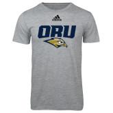 Adidas Sport Grey Logo T Shirt-ORU w Mascot