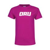 Youth Cyber Pink T Shirt-ORU