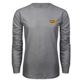 Grey Long Sleeve T Shirt-Eli