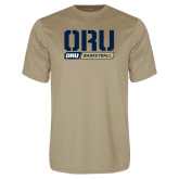 Performance Vegas Gold Tee-ORU Basketball Design