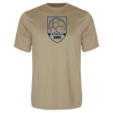Syntrel Performance Vegas Gold Tee-Soccer Shield Design