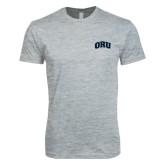 Next Level SoftStyle Heather Grey T Shirt-ORU