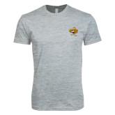 Next Level SoftStyle Heather Grey T Shirt-Eli