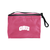 Six Pack Pink Cooler-ORU