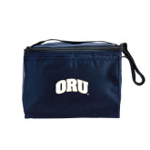 Koozie Six Pack Navy Cooler-ORU