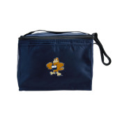 Koozie Six Pack Navy Cooler-Eli