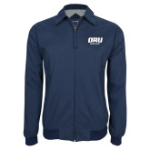 Navy Players Jacket-ORU Golden Eagles