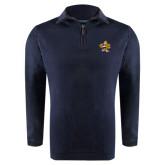 Navy Rib 1/4 Zip Pullover-Eli