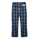 Navy/White Flannel Pajama Pant-ORU