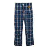 Navy/White Flannel Pajama Pant-Eli