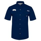 Columbia Bonehead Navy Short Sleeve Shirt-ORU
