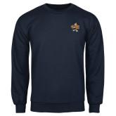 Navy Fleece Crew-Eli
