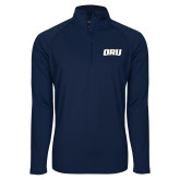 Sport Wick Stretch Navy 1/2 Zip Pullover-ORU