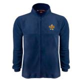 Fleece Full Zip Navy Jacket-Eli