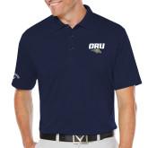 Callaway Opti Dri Navy Chev Polo-ORU w Mascot