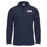 Columbia Full Zip Navy Fleece Jacket-ORU