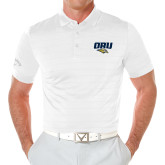 Callaway Opti Vent White Polo-ORU w Mascot