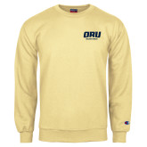 Champion Vegas Gold Fleece Crew-ORU Golden Eagles