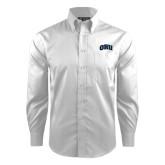 Red House White Dobby Long Sleeve Shirt-ORU