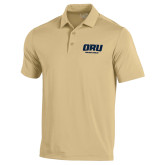 Under Armour Vegas Gold Performance Polo-ORU Golden Eagles