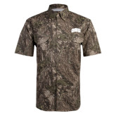 Camo Short Sleeve Performance Fishing Shirt-ORU