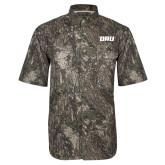 Camo Short Sleeve Performance Fishing Shirt-ORU