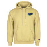 Champion Vegas Gold Fleece Hoodie-ORU Golden Eagles Mark