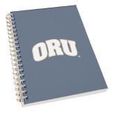 Clear 7 x 10 Spiral Journal Notebook-ORU