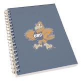Clear 7 x 10 Spiral Journal Notebook-Eli