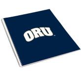 College Spiral Notebook w/Clear Coil-ORU