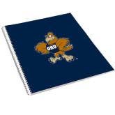 College Spiral Notebook w/Clear Coil-Eli