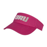 Pink Athletic Mesh Visor-ORU