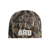 Mossy Oak Camo Fleece Beanie-ORU