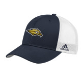 Adidas Navy Structured Adjustable Hat-Golden Eagle Mascot