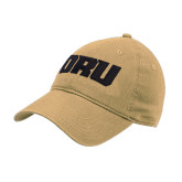 Vegas Gold Twill Unstructured Low Profile Hat-ORU