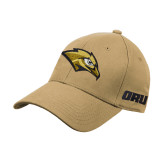 Vegas Gold Heavyweight Twill Pro Style Hat-Golden Eagle Mascot