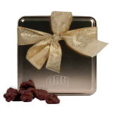 Decadent Chocolate Clusters Gold Medium Tin-ORU Engraved
