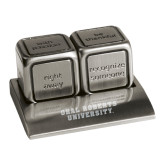 Icon Action Dice-Oral Roberts University Engraved