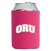 Collapsible Hot Pink Can Holder-ORU