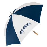 62 Inch Navy/White Umbrella-Arched Oral Roberts University