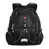 Wenger Swiss Army Mega Black Compu Backpack-ORU
