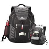 High Sierra Big Wig Black Compu Backpack-ORU