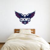 3 ft x 3 ft Fan WallSkinz-OKWU Full Eagle