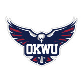 Medium Decal-OKWU Full Eagle, 8 inches wide