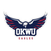 Medium Decal-Half Eagle OKWU Eagles, 8 inches wide