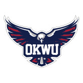Large Decal-OKWU Full Eagle, 12 inches wide