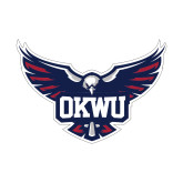 Small Decal-OKWU Full Eagle, 6 inches wide