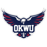 Extra Large Decal-OKWU Full Eagle, 18 inches wide