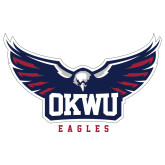Extra Large Decal-Half Eagle OKWU Eagles, 18 inches wide